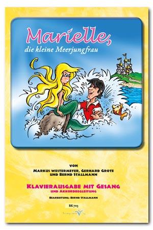 Klavierheft Marielle, die kleine Meerjungfrau