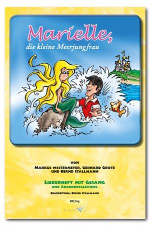 Liederheft Marielle, die kleine Meerjungfrau